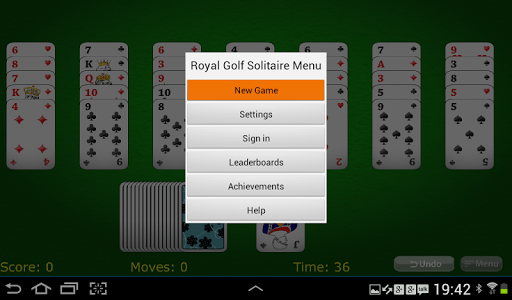 【免費紙牌App】Royal Golf Solitaire-APP點子