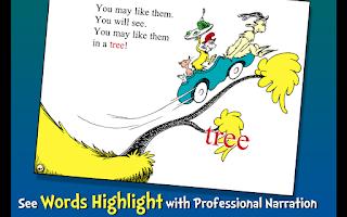Screenshot of Green Eggs and Ham - Dr. Seuss