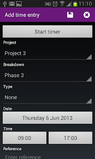 Timewax Planning & Time Sheets- screenshot thumbnail
