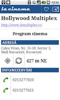Screenshot of La Cinema