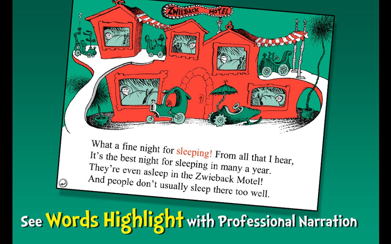Dr. Seuss's Sleep Book - screenshot