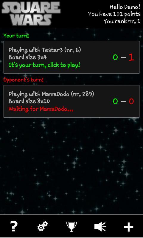 Square Wars - screenshot