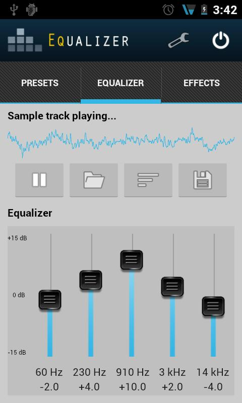 Equalizer - screenshot