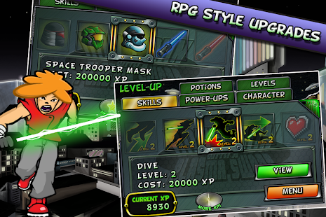 Don't Run With a Plasma Sword Screenshot