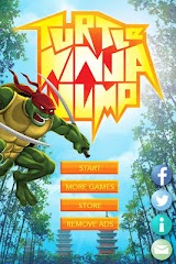 Turtle Ninja Jump Apk Download Free for PC, smart TV