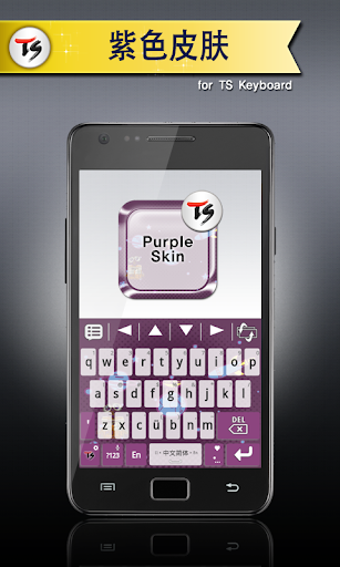紫色皮肤 for TS 键盘