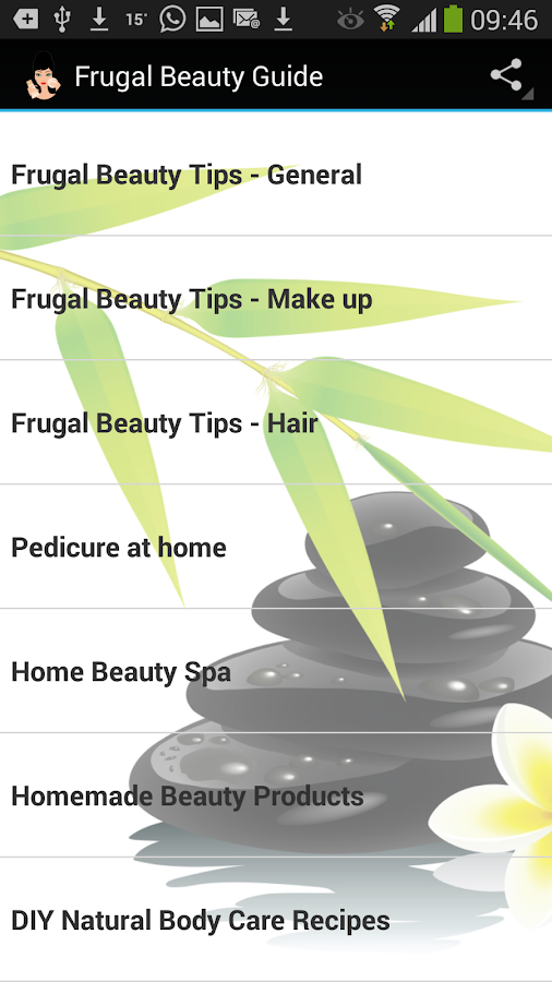 Frugal Beauty & Makeup Guide - screenshot