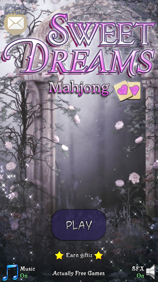 Mah Jong Game Sweet Dreams- screenshot