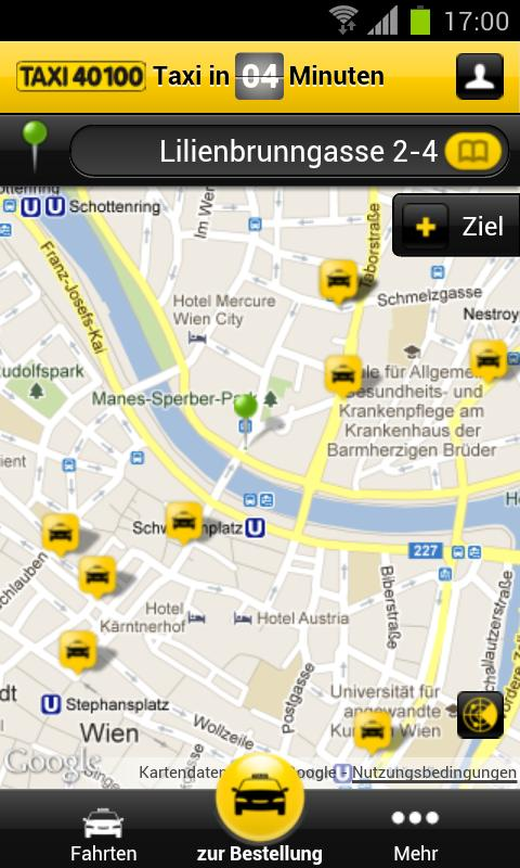 Taxi 40100 - screenshot