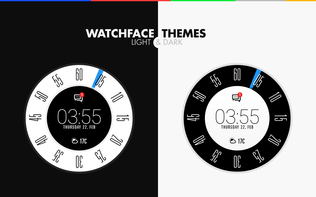 Brilliant Themes Watch Face- screenshot