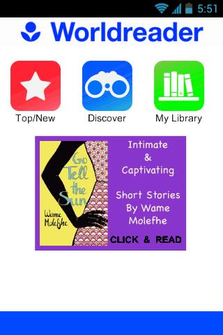Worldreader - Books Stories