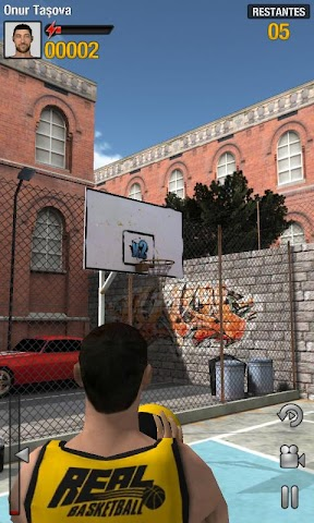 android Real Basketball Screenshot 3