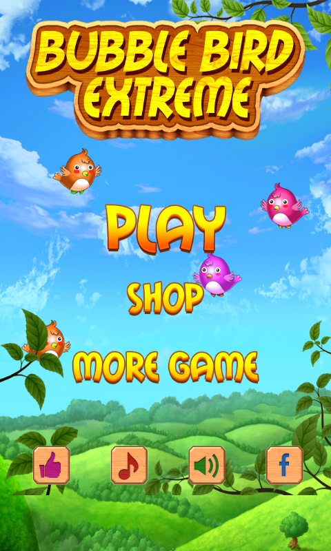Bubble Bird Extreme - screenshot