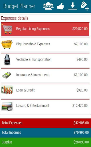 【免費財經App】Budget Planner Pro-APP點子