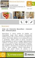 Screenshot of Guida ristoranti Oraviaggiando