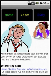 Headache Diary- screenshot thumbnail