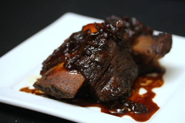 Stout-Braised Short Ribs with Soy and Honey Recipe