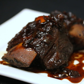 Stout-Braised Short Ribs with Soy and Honey.
