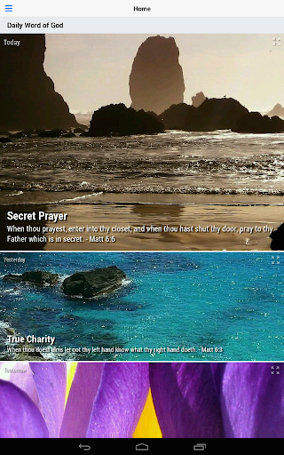 Daily Word of God - Lite 4.54.0 screenshots 8