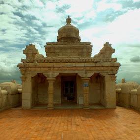 Adinath Temple by Chirag Gupta - Buildings & Architecture Statues & Monuments ( temple, god, ancient, jain, adinath, shravanbelgola, chandragiri, mahaveer, jainism, rishabh )