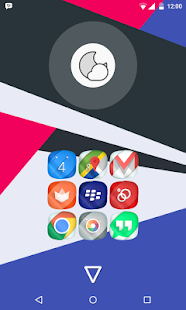 Nano Icons Theme Screenshot