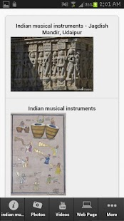 Indian Musical Instruments - screenshot thumbnail