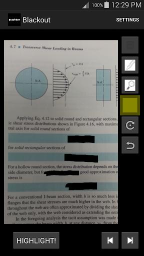 【免費教育App】Blackout: A Study Aid-APP點子