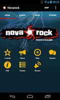 Screenshot of Novarock