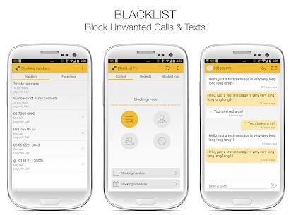 BlackList PRO v5.0 APK 1