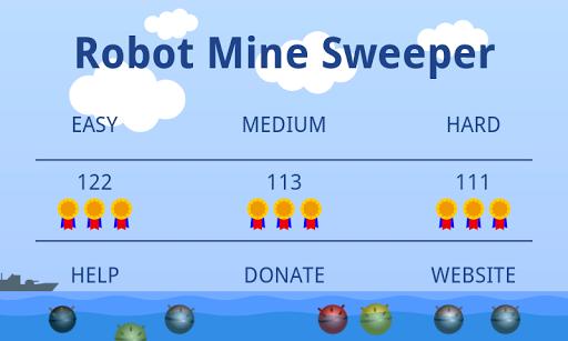 Robot Mine Sweeper