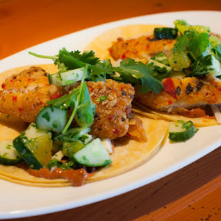 Fresh and Fiery Tilapia Taco.