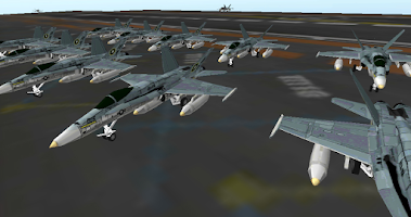 Screenshot of Airport 3D Jet plane parking