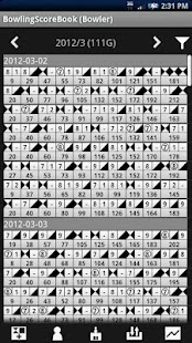 Bowling Score Book- screenshot thumbnail