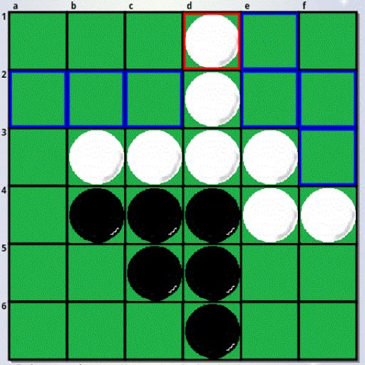 おもしろ詰めリバーシ for fullHD1092x1080 棋類遊戲 LOGO-玩APPs