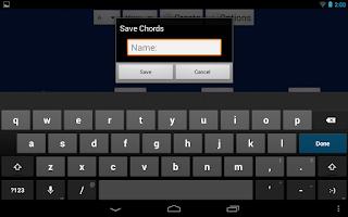 Screenshot of SongWriter