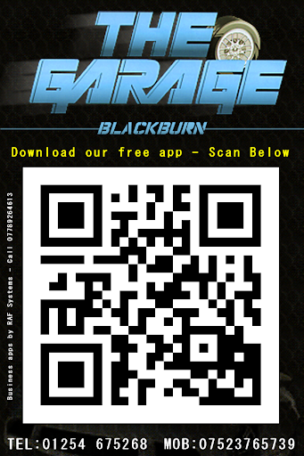 The Garage Example App