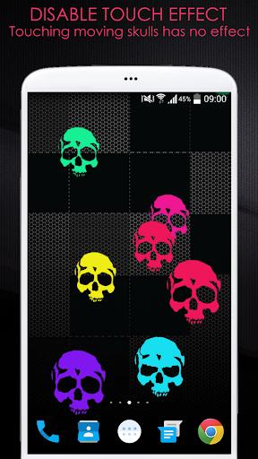 ... Neon Skulls Live Wallpaper ...