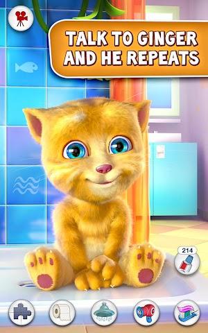 Screenshot 1 Talking Ginger