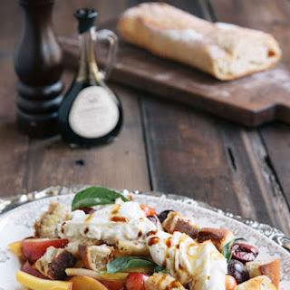 Stone Fruit and Burrata Salad