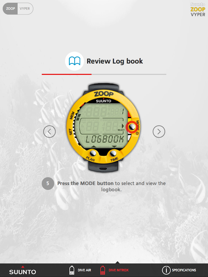 suunto zoop vyper tool   android apps on google play