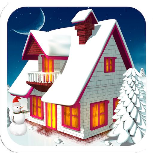 冬の家デザイン 休閒 LOGO-玩APPs