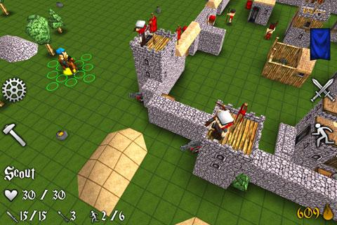 Battles And Castles FREE- screenshot
