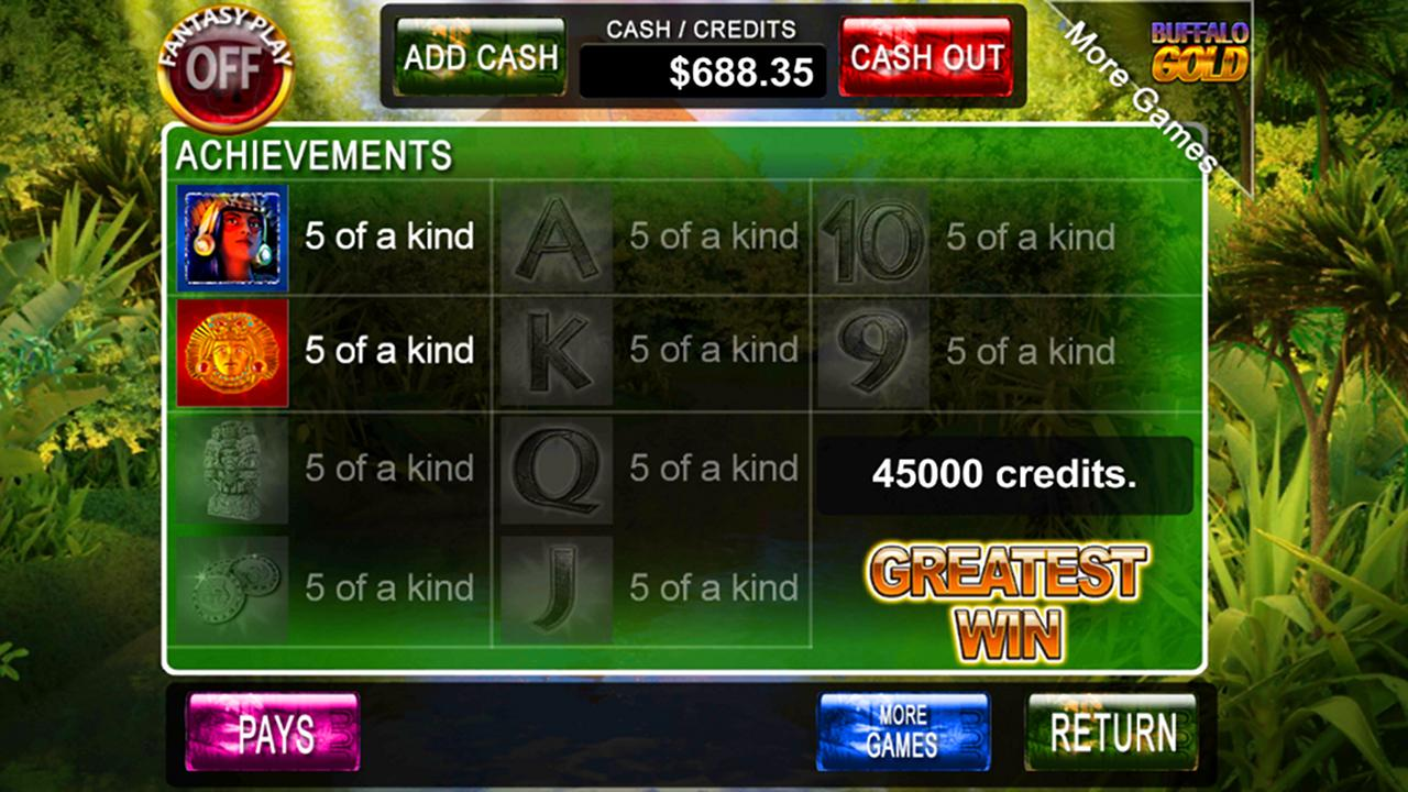 Lost City of Gold Slot Game - screenshot
