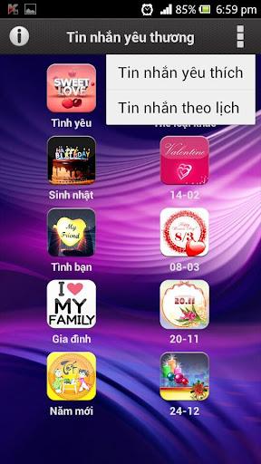 Tin nhắn yêu thương Love SMS