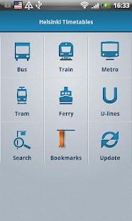 Helsinki Timetables- screenshot thumbnail