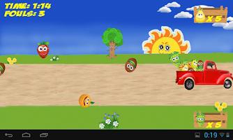 Screenshot of Flying Fruits