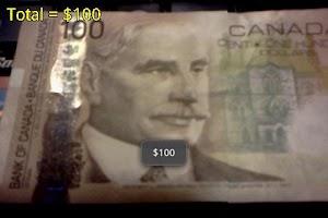 Screenshot of Cash Counter (Canadian Ed.)