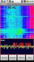 Screenshot of SPL and Spectrum Analyser