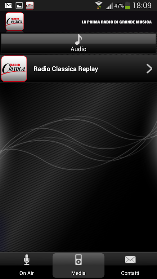 Radio Classica- screenshot