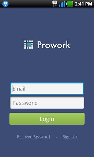 Prowork Notifications